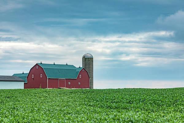 Huron Wall Art - Photograph - Ontario Barn - Canada by Joana Kruse