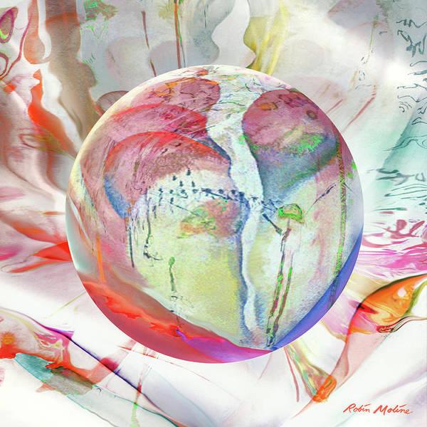 Digital Art - Orbiental Expression by Robin Moline