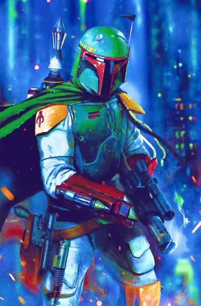 R2-d2 Digital Art - Original Star Wars Poster by Larry Jones