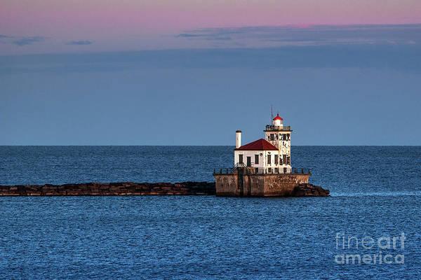 Wall Art - Photograph - Oswego West Pierhead Lighthouse by John Greim