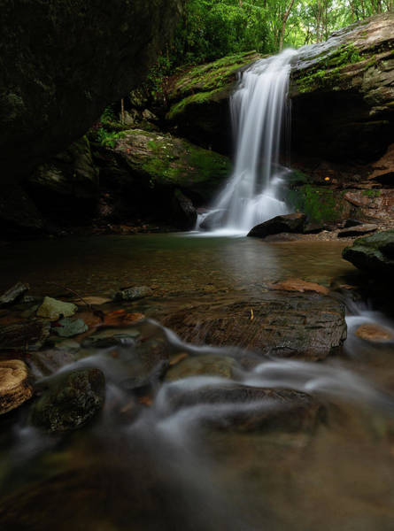 Wall Art - Photograph - Otter Falls - Seven Devils, North Carolina by Mike Koenig