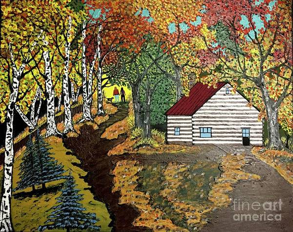 Wall Art - Painting - Out In The Country by Jeffrey Koss