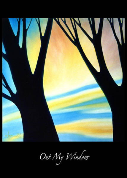 Painting - Out My Window by Angela Treat Lyon
