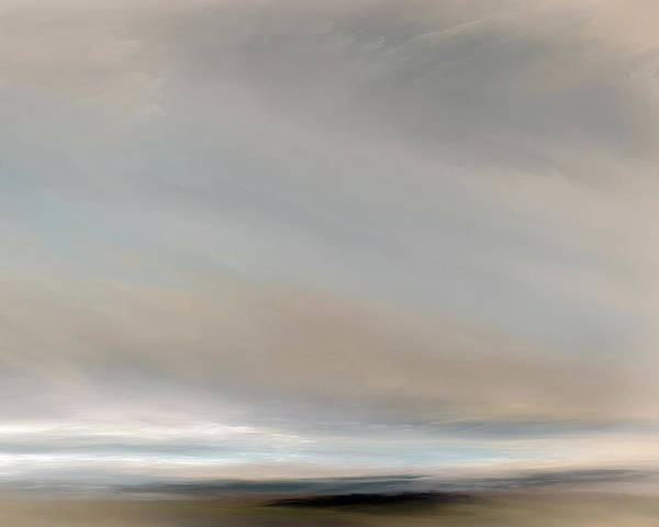 Cloud Mixed Media - Out To Sea by Lonnie Christopher
