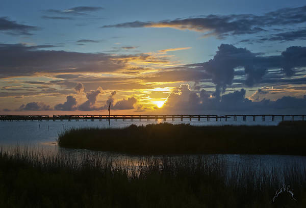 Photograph - Outer Banks Sunset by Williams-Cairns Photography LLC