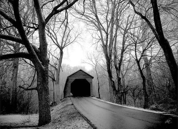 Photograph - Outside Meems Bottom Bridge by Williams-Cairns Photography LLC