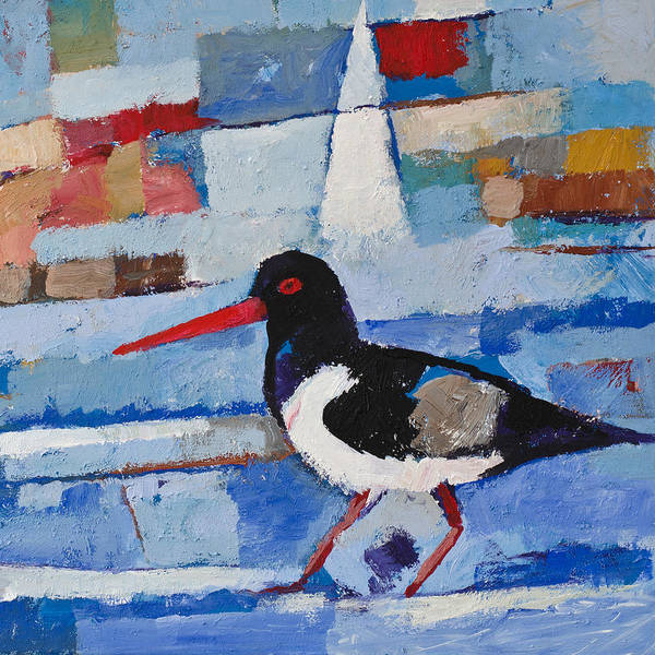 Painting - Oystercatcher by Lutz Baar