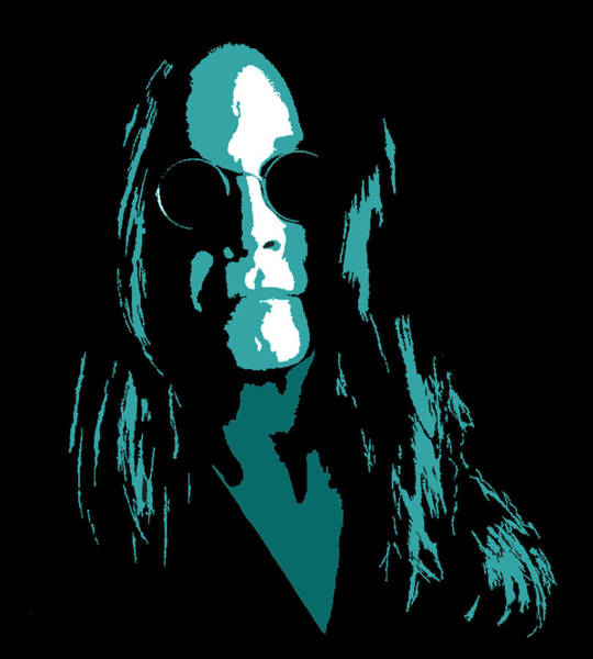 Prince Of Darkness Digital Art - Ozzy by Michael Bergman