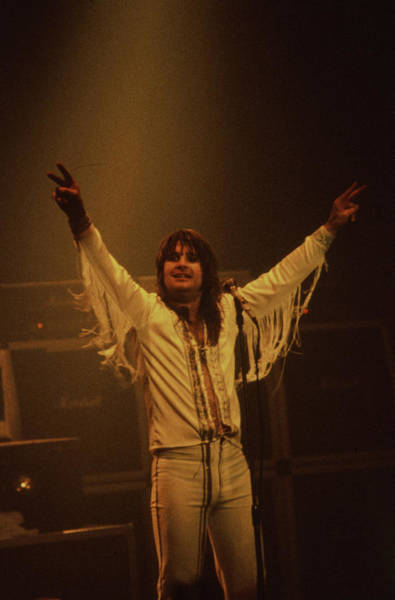 Photograph - Ozzy Osbourne by Rich Fuscia