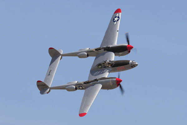 Photograph - P-38 Lightning by John Daly