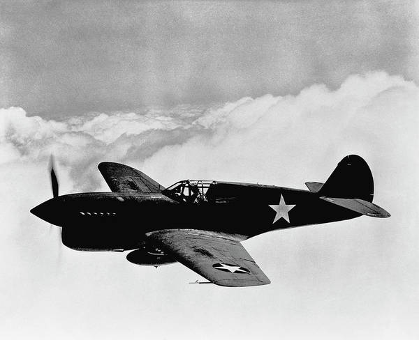 Wwii Photograph - P-40 Warhawk by War Is Hell Store