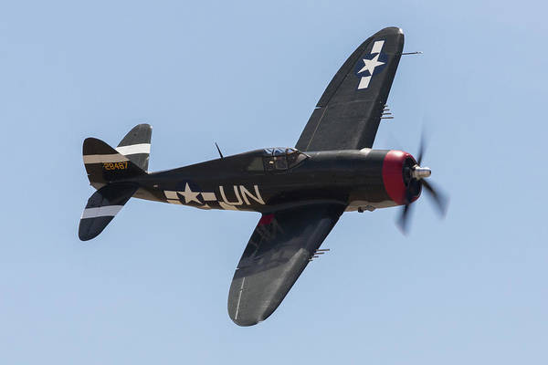 Photograph - P-47 Thunderbolt by John Daly