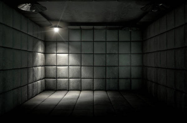 Pads Digital Art - Padded Cell Dirty Spotlight by Allan Swart