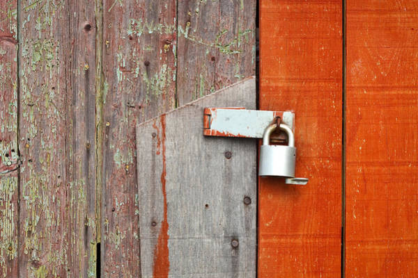 Privacy Photograph - Padlock by Tom Gowanlock