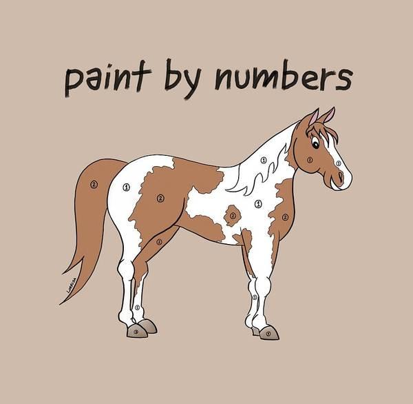 Digital Art - Paint By Numbers by Lorrisa Dussault