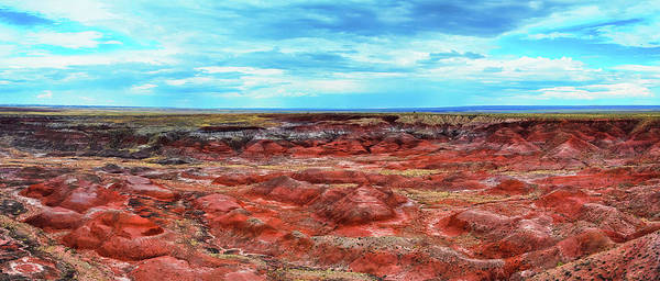 Photograph - Panorama Painted Desert by Kyle Hanson