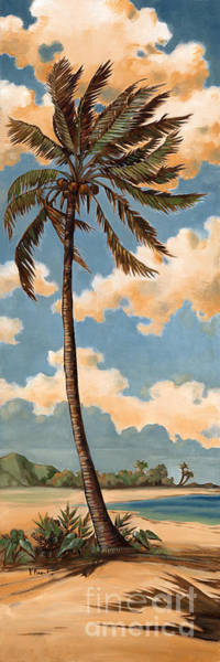 Wall Art - Painting - Palm Breeze II by Paul Brent