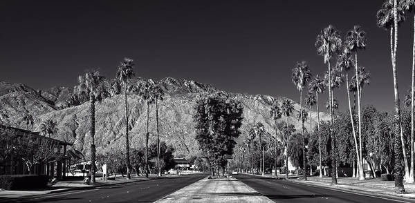 Palm House Photograph - Palm Springs California by Mountain Dreams