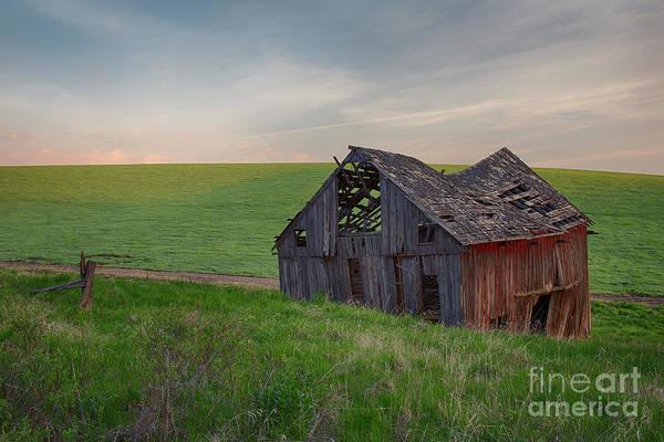 Wall Art - Photograph - Palouse Barn by Idaho Scenic Images Linda Lantzy