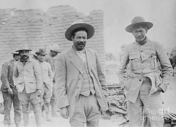 Caudillo Photograph - Pancho Villa, Mexican Revolutionary by Science Source