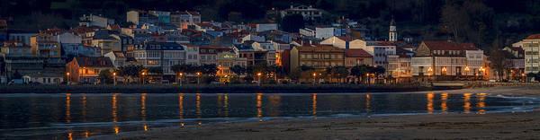 Panorama Of Cedeira Galicia Spain Art Print