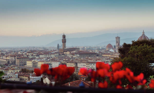 Photograph - Panorama Of Florence, Tuscany, Italy by Alexandre Rotenberg