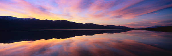 Wall Art - Photograph - Panoramic View At Sunset Of Flooded by Panoramic Images