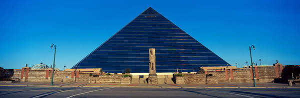 Memphis Design Wall Art - Photograph - Panoramic View Of The Pyramid Sports by Panoramic Images