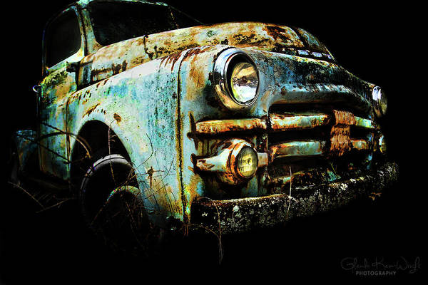 Photograph - Grandpa's Truck by Glenda Wright