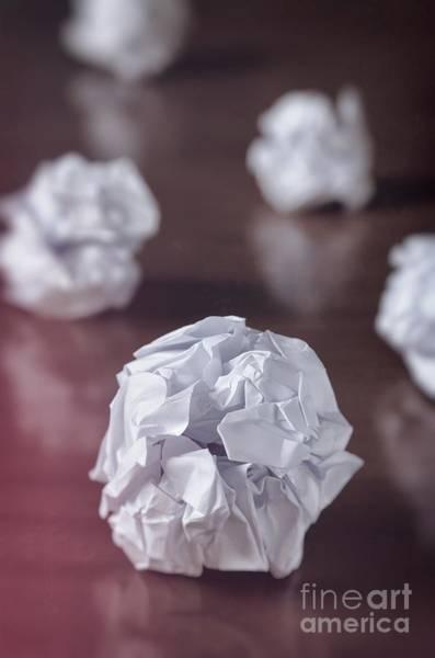 Smashed Photograph - Paper Balls by Carlos Caetano