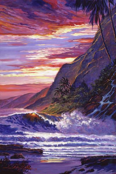 Painting - Paradise Beach by David Lloyd Glover