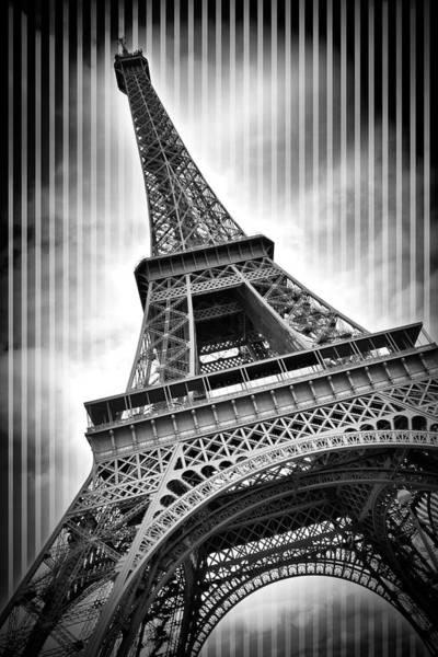 Wall Art - Photograph - Paris Eiffel Tower  by Melanie Viola