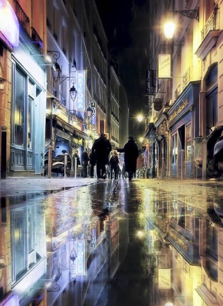 Photograph - Paris In The Rain by Evie Carrier