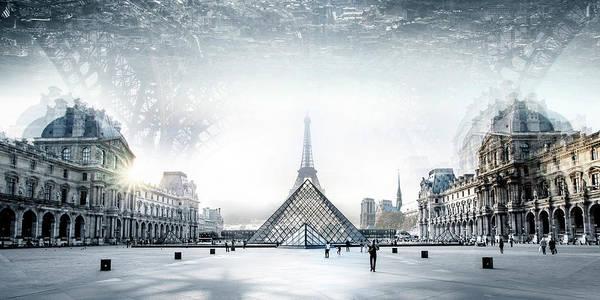 Paris Art Print by Ivan Vukelic