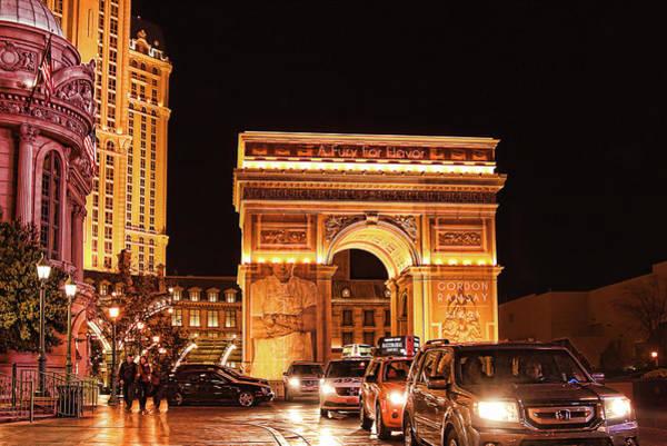 Photograph - Paris, Las Vegas by Tatiana Travelways