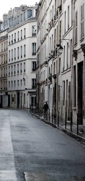 Photograph - Paris Neighborhood - Marais - No Right Turn by Jani Freimann