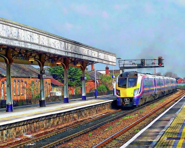 Photograph - Passenger Train by Anthony Dezenzio