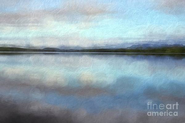 Wall Art - Digital Art - Pastel Landscape by Patricia Hofmeester