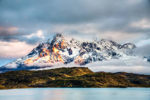 Photograph - Patagonia Sunrise by Walt Sterneman