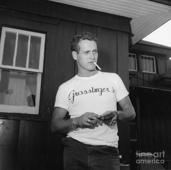 Photograph - Paul Newman by Dick Hanley
