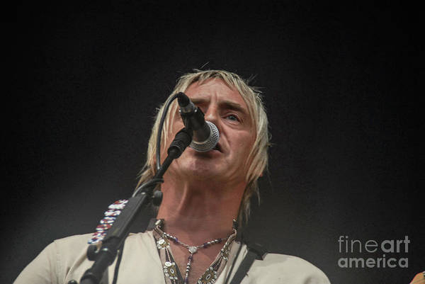 Photograph - Paul Weller by Jenny Potter