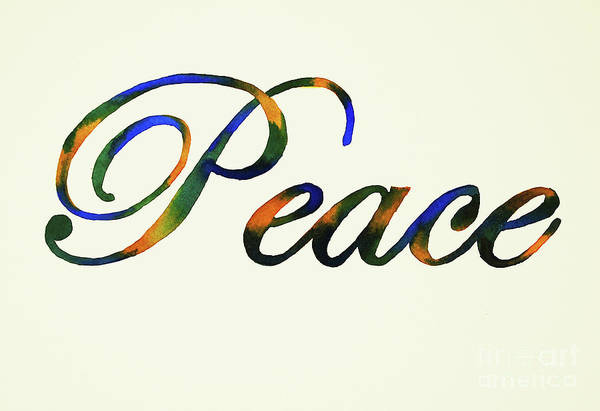Wall Art - Painting - Peace by Annette McGarrahan