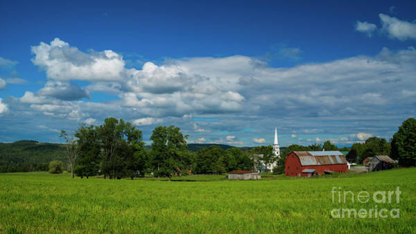 Photograph - Peacham Vermont by Scenic Vermont Photography