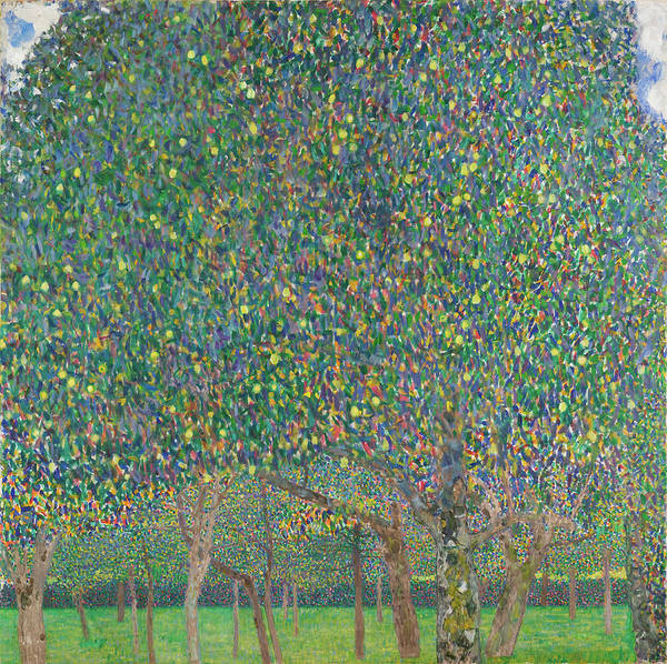 Wall Art - Painting - Pear Tree by Gustav Klimt