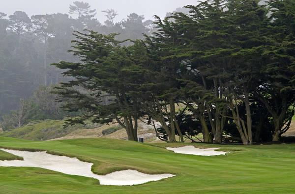 Wall Art - Photograph - Pebble Beach Golf Course - California by Brendan Reals