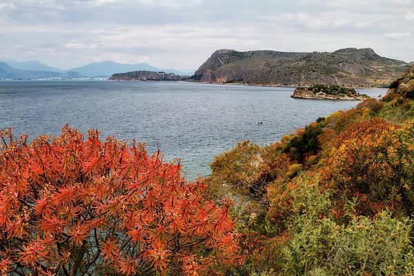 Shirleys Bay Photograph - Peloponnes Peninsular, by Shirley Mitchell