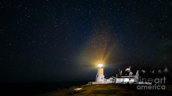 Photograph - Pemaquid Point Lighthouse by Jim DeLillo