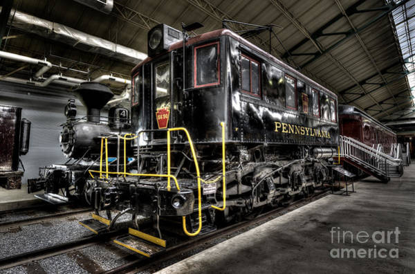 Photograph - Pennsy Engine by Paul W Faust - Impressions of Light
