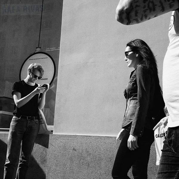 Wall Art - Photograph - #people #instapeople #streetpeople by Rafa Rivas
