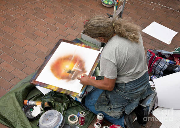 Street Performers Photograph - Performance Of Art by Heiko Koehrer-Wagner